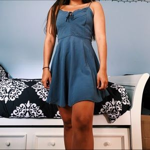 Abercrombie & Fitch Slate Blue/Grey Dress